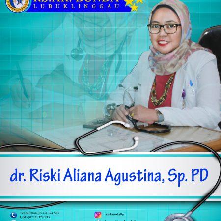 dr. Rizki Aliana, SpPD
