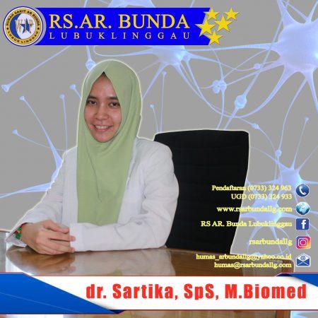 dr. Sartika, SpS, M.Biomed