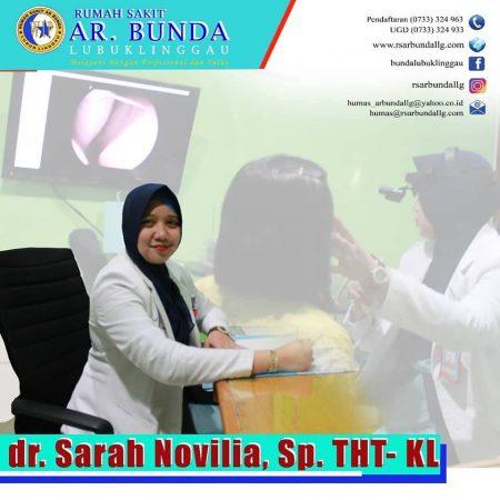 dr. Sarah Noviliasari Sp.THT,KL